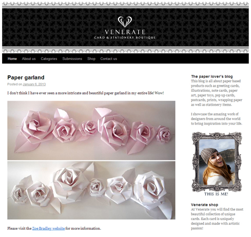 Venerate-Paper-Blog