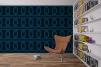 Circles Wallpaper by Claudia Owen