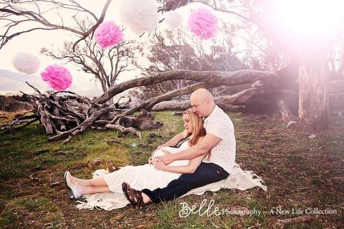 Claudia Owen pregnancy photo shoot by Belle Photography1