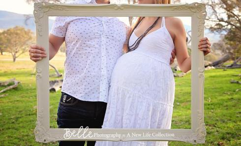 Claudia Owen pregnancy photo shoot by Belle Photography3