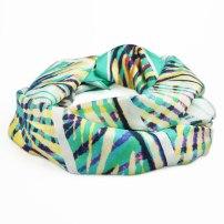 Gemstone Silk Scarf by Claudia Owen 3