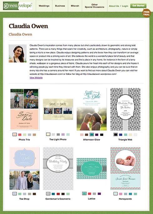 Greenvelope-profile-pagefor-Claudia-Owen