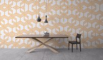 Grid Wallpaper by Claudia Owen