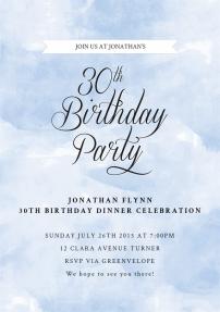happy-30th-invitations-by Claudia Owen