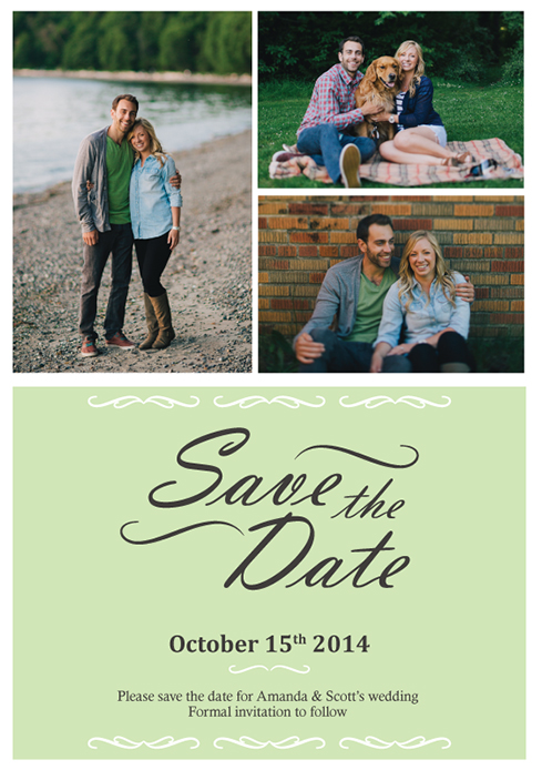 Photos-Trio-Save-the-date-card-by-Claudia-Owen-for-Greenvelope