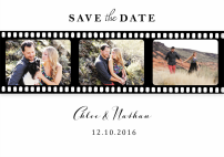 silver-screen-trio-save-the-dates-by Claudia Owen