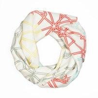 Symmetry Silk Scarf By Claudia Owen 3
