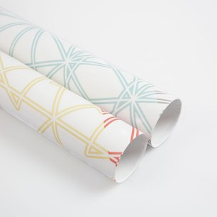 Symmetry Wrapping Paper Sheets by Claudia Owen 1