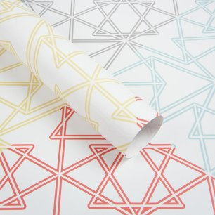 Symmetry Wrapping Paper Sheets by Claudia Owen 2