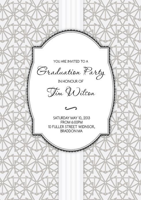 Triangle-web-graduation-party-invite-by-Claudia-Owen-for-Greenvelope