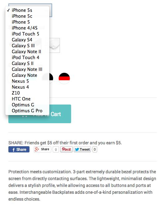 Casetagram phones