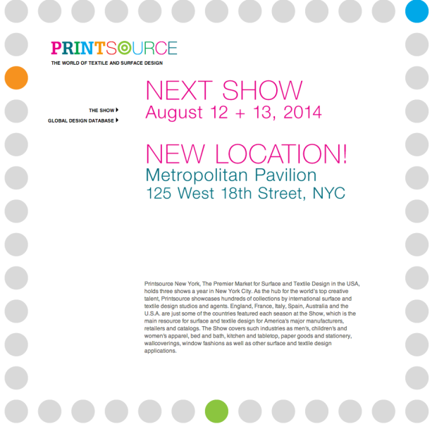 Printsource New York Claudia Owen Surface Designer 2