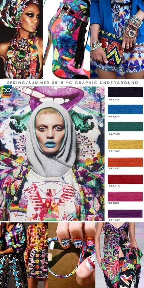 Spring Summer 2015 Womens Contemporary Color Trends by Design Options