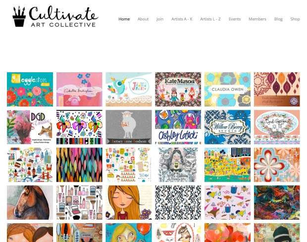 Cultivate_Art_Collective_Home_Page