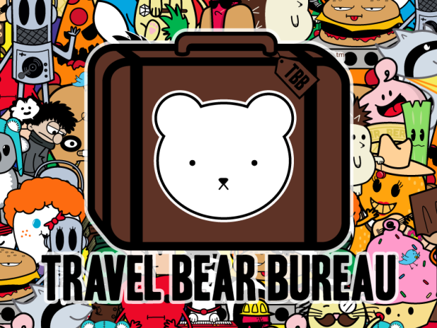 Travel Bear Bureau Printsource