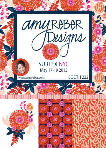 Amy Reber Surtex Flyer
