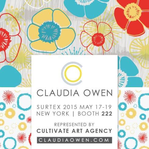 Claudia Owen Surtex Flyer