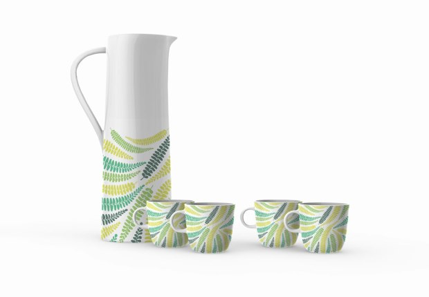 Dinnerware design by Claudia Owen 1