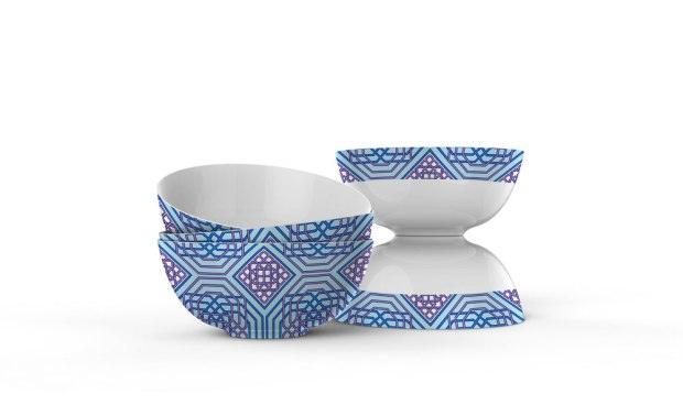 Dinnerware design by Claudia Owen 3