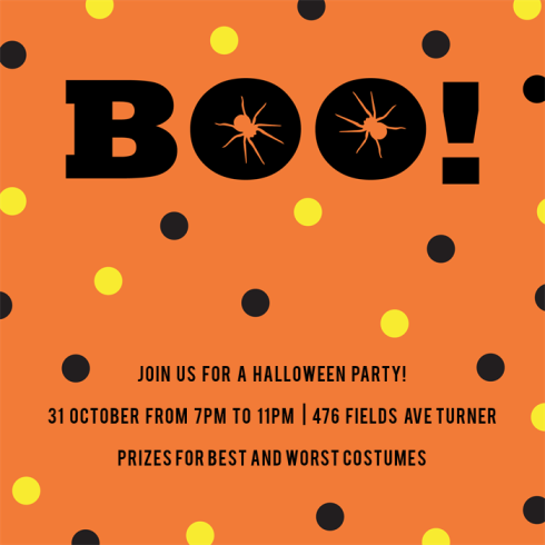 boo!-invitations-by Claudia Owen for Greenvelope