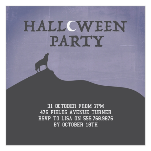 Halloween Party Invite by Claudia Owen for Pingg 1