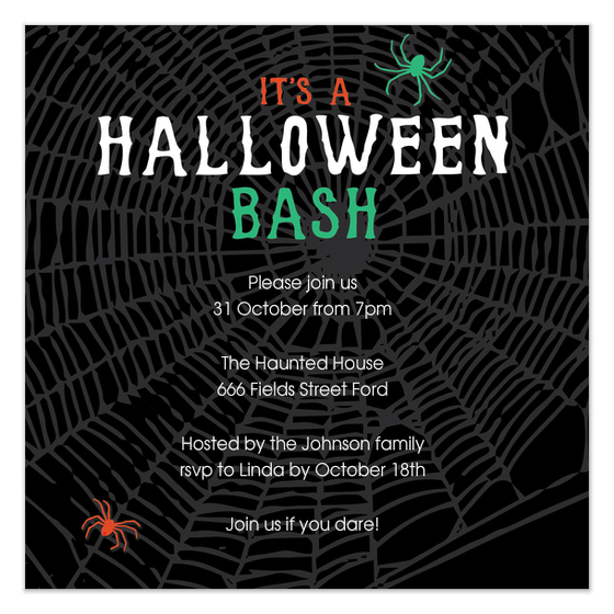 Halloween Party Invite by Claudia Owen for Pingg 3