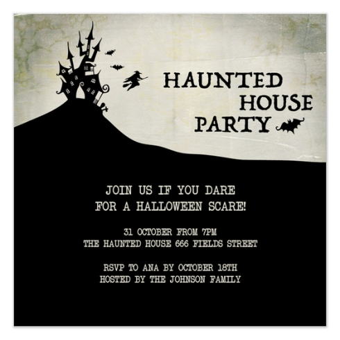 Halloween Party Invite by Claudia Owen for Pingg 4