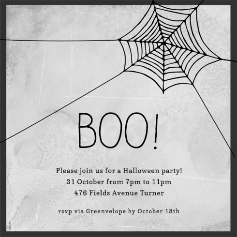 hanging-web-invitations-invitations-by Claudia Owen for Greenvelope