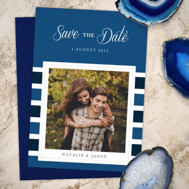 Save the Date Card by Claudia Owen for Greenvelope 2