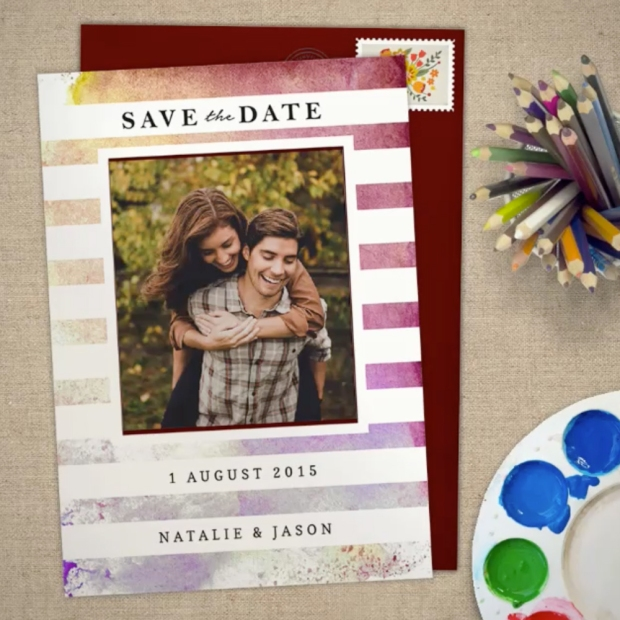 Save the Date Card by Claudia Owen for Greenvelope