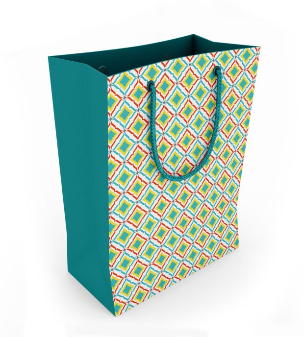 How to create product mock ups - Paper Bag Design by Claudia Owen