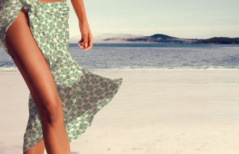 How to create product mock ups - Sarong Design by Claudia Owen