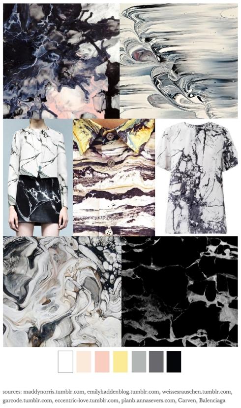 Marble inspired Claudia Owen Blog