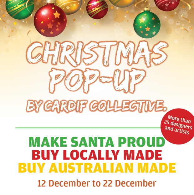 Christmas Pop-up Shop by Cardif Collective featured in Claudia Owen Blog