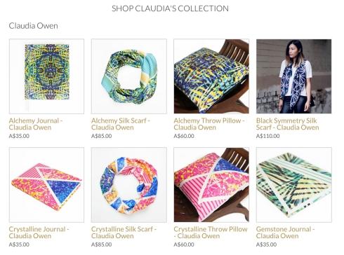 Claudia Owen Designs at Brindie Canberra 2
