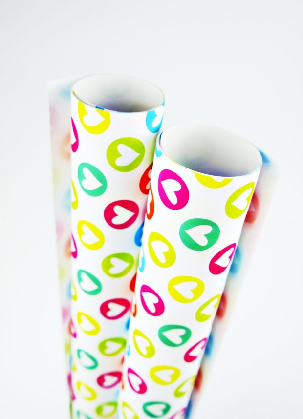 Colorful-Hearts-Wrapping-Paper-Design-for-Handmade-Shop-Canberra-by-Claudia-Owen-1