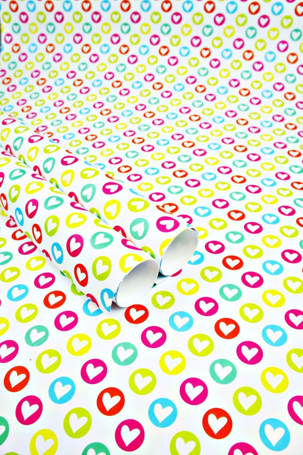 Colorful-Hearts-Wrapping-Paper-Design-for-Handmade-Shop-Canberra-by-Claudia-Owen-3