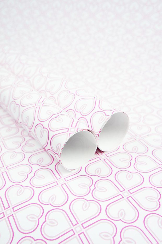 Sweet-Hearts-in-Pink-Wrapping-Paper-Design-for-Handmade-Shop-Canberra-by-Claudia-Owen-1