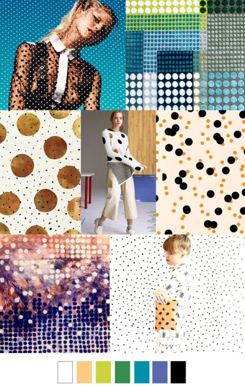 Trend forecasts womens spring 2017 - Seeing spots - We Connect Fashion by Pattern Curator - Featured in Claudia Owen Blog