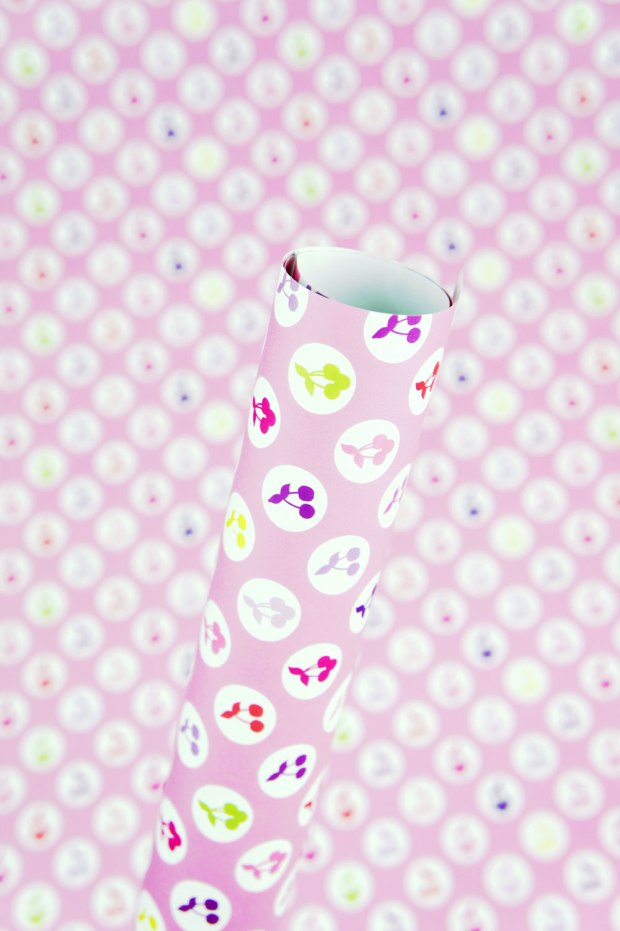 Yummy-Cherries-Wrapping-Paper-Design-for-Handmade-Shop-Canberra-by-Claudia-Owen-2