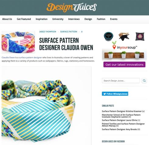Design Juices Work Feature Surface Designer Claudia Owen 1