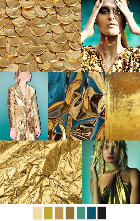 Gold Trend by Pattern Curator featured in Claudia Owen Blog