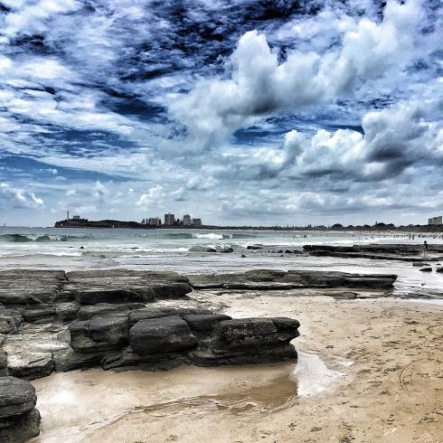 Mooloolaba Beach on a Sunny Day Photography by Claudia Owen
