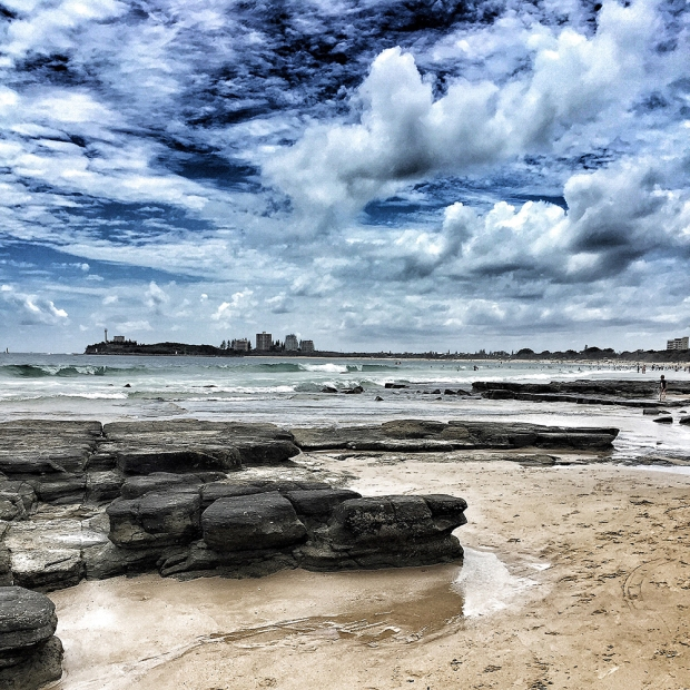 Mooloolaba Beach on a Sunny Day Photography by Claudia Owen