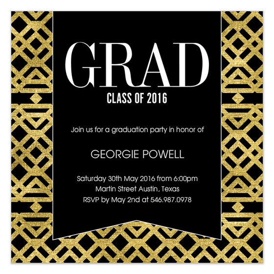 Grad 2016 for Pingg Designed by Claudia Owen